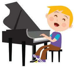 Kuvituskuva, pianonsoittoa Jyväskylässä toteuttaa musiikkikoulu PiaCello.