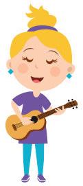 Kuvituskuva, ukuleleen soittoa Jyväskylässä toteuttaa musiikkikoulu PiaCello.