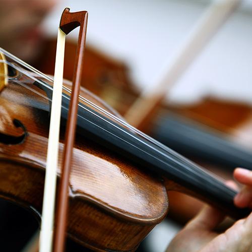 Viulunsoittoa musiikkikoulu PiaCellossa, Jyväskylässä.